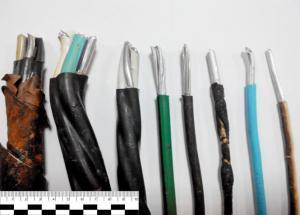 Старые электрокабели